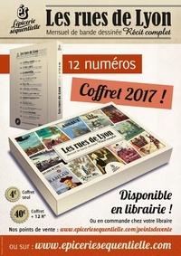 Ludivine Stock et Anne de Angelis - Les rues de Lyon  : Coffret vide pour 12 numéros.