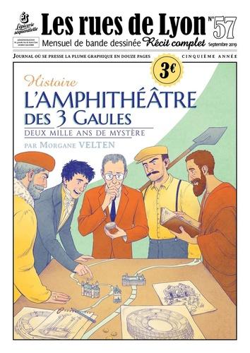 Morgane Velten - Les rues de Lyon N° 57 : L'Amphithéâtre.