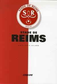L'Equipe et Vincent Laudet - Stade de Reims.