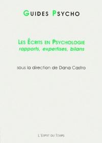 Les écrits en psychologie. Rapports, expertises, bilans.pdf
