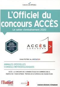 L'Etudiant - L'officiel du concours ACCES - Cahier d'entraînement.