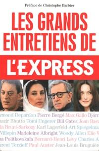 L'Express - Les grands entretiens de l'Express.