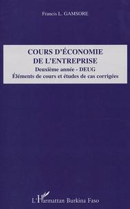 Cours déconomie de lentreprise 2e année DEUG - Eléments de cours et études de cas corrigées.pdf