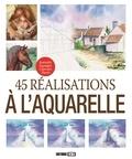 L Guillaume et L Thomas - 45 réalisations à l'aquarelle.