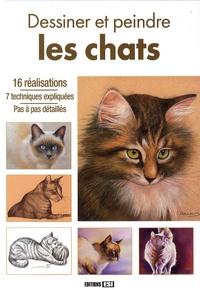 L Guillaume et L Thomas - Dessiner et peindre des chats.
