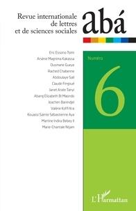 L'Harmattan - Abá - revue internationale de lettres et de sciences sociales N° 6 : .