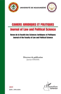 Janvier Onana - African Journal of Law and Politics 2019 : .