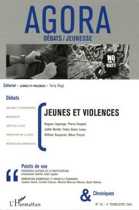 Hugues Lagrange et Pierre Coupiat - Agora Débats/Jeunesse N° 38, 4e trimestre : Jeunes et violences.