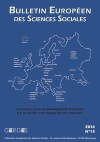 L'Harmattan - Bulletin européen des sciences sociales N° 13/2016 : .
