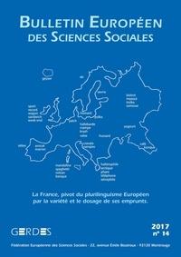 L'Harmattan - Bulletin européen des sciences sociales N° 14 : .