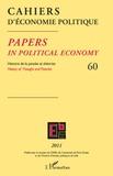 Claire Pignol - Cahiers d'économie politique N° 60/2011 : .