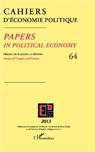 L'Harmattan - Cahiers d'économie politique N° 64/2013 : .