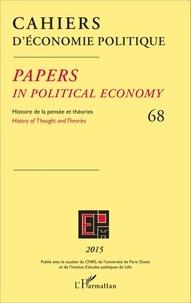Claire Pignol - Cahiers d'économie politique N° 68/2015 : .