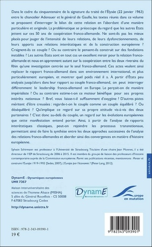 Cahiers de fare N° 7 Le couple franco-allemand vu par certains Etats tiers depuis 1963