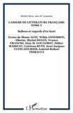Michel Delon et Jean-Marie Goulemot - Cahiers de littérature française N° 5 : Ballons et regards d'en haut.