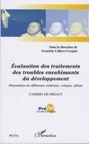 Graciela Cullere-Crespin - Cahiers de PREAUT N° 6 : Evaluation des traitements des troubles envahissants du développement - Présentation de différentes méthodes, critiques, débats.