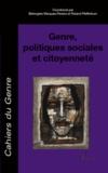 Bérengère Marques-Pereira et Roland Pfefferkorn - Cahiers du genre Hors-série 2011 : Genre, politiques sociales et citoyenneté.