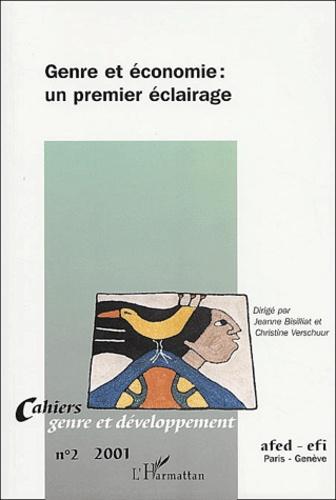 Christine Verschuur et Jeanne Bisilliat - Cahiers genre et développement N° 2/2001 : Genre et économie : un premier éclairage.