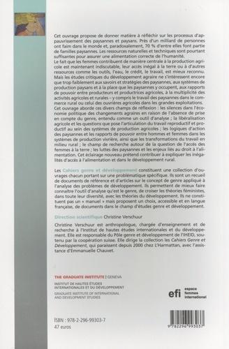 Cahiers genre et développement N° 8/2012 Genre, changements agraires et alimentation