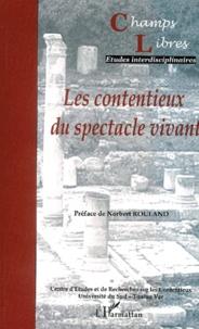 Jean-Marie Pontier et Partick Auvert - Champs Libres N° 4 : Les contentieux du spectacle vivant.