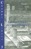 Jean-Jacques Sueur - Champs Libres N° 5 : Les contentieux de l'appartenance.