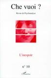 Jean-Mathias Pre-Laverriere et  Collectif - Che vuoi ? N° 10, 1998 : L'INESPOIR.