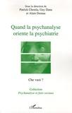 Alain Deniau et Guy Dana - Che vuoi ? N° Hors-série, 2005 : Quand la psychanalyse oriente la psychiatrie - Le transfert dans l'institution sectorielle.