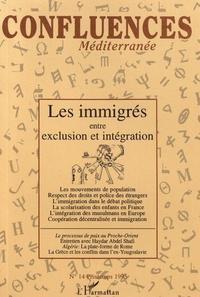 Christian Bruschi - Confluences Méditerranée N° 14, printemps 199 : Les immigrés entre exclusion et intégration.
