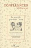 Jean-Paul Chagnollaud et Farouk Mardam-Bey - Confluences Méditerranée N° 49 Printemps 2004 : La nouvelle question d'Orient.