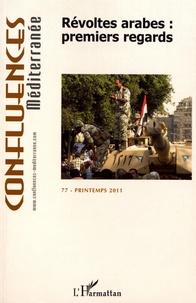 Pierre Blanc - Confluences Méditerranée N° 77, Printemps 201 : Révoltes Arabes : premiers regards.