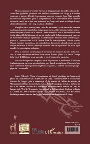 Congo-Meuse N° 10 Les Années Lovanium. La première université francophone d'Afrique subsaharienne, Tome 1