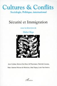 Didier Bigo et  Collectif - Cultures & conflits N° 31-32, automne-hi : Sécurité et immigration.