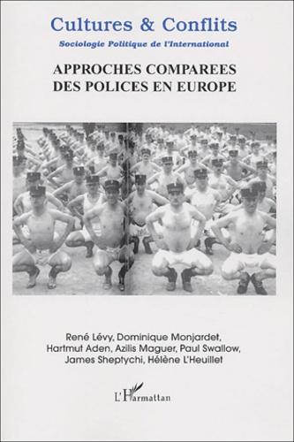 Collectif - Cultures & conflits n° 48 Hiver 2002 : Approches comparées des polices en Europe.