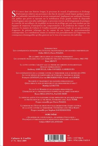 Cultures & conflits N° 76, hiver 2009