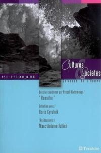 Pascal Hintermeyer et Roger Dadoun - Cultures & Sociétés N° 1, premier trimes : Renaître.