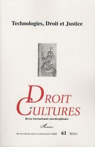 Hervé Guillorel - Droit et cultures N° 61-2011/1 : Technologies, Droit et Justice.