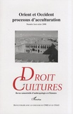 Nathalie Kalnolky - Droit et cultures N° hors-série 2008 : Orient et Occident, processus d'acculturation.