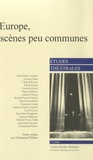 Emmanuel Wallon - Etudes théâtrales N° 37/2006 : Europe, scènes peu communes.