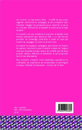 Géographie et Cultures N° 87-88, automne 20 La campagne, autrement