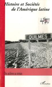 Histoire et sociétés de lAmérique latine N° 13, 2001-1.pdf