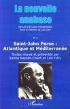 Samia Kassab-Charfi et Loïc Céry - La nouvelle anabase N° 3, Novembre 2007 : Saint-John Perse : Atlantique et Méditerranée.