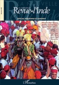 François Gautier - La nouvelle Revue de l'Inde N° 5 : Numéro spécial Râmâyana et Sanskrit.