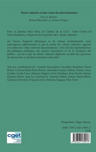 Les cahiers de la LCD HS 1 Droits culturels et lutte contre les discriminations