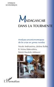 L'Harmattan - Madagascar dans la tourmente - Analyses socioéconomiques de la crise en zones rurales.