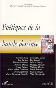 Pierre Fresnault-Deruelle et Jacques Samson - MEI N° 26 : Poétiques de la bande dessinée.