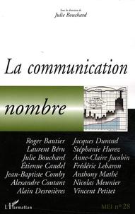 Marie Thonon - MEI N° 28 : La communication nombre.