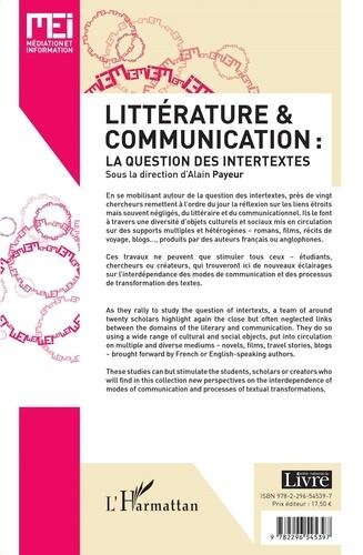 MEI N° 33 Littérature & communication : la question des intertextes