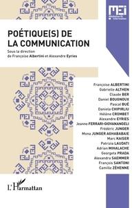Françoise Albertini et Alexandre Eyriès - MEI N° 50 : Poétique(s) de la communication.