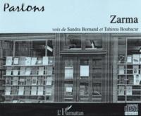 Sandra Bornand et Tahirou Boubacar - Parlons zarma. 1 Cédérom