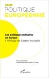 Catherine Hoeffler et Samuel Faure - Politique européenne N° 48/2015 : Les politiques militaires en Europe - L'héritage de Bastien Irondelle.